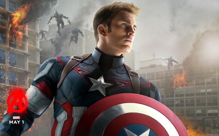 Captain America Avengers Age of Ultron 2015 Wallpaper